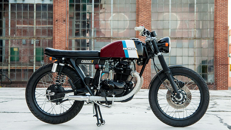 1975 Honda CB200T Café-Brat Featured