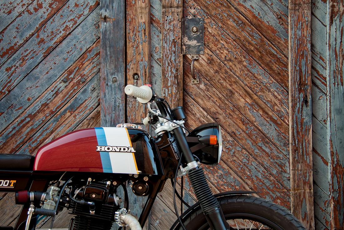 1975 Honda CB200T Café-Brat Handle Bars