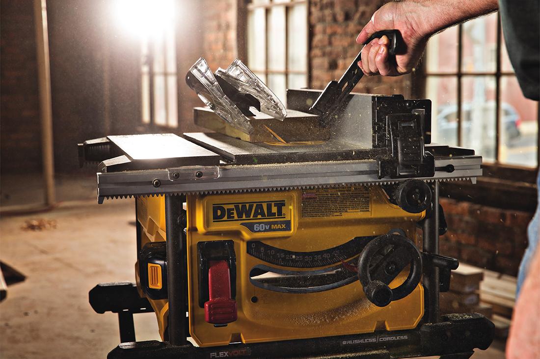 DeWalt FLEXVOLT 60V MAX Cordless Table Saw Helper