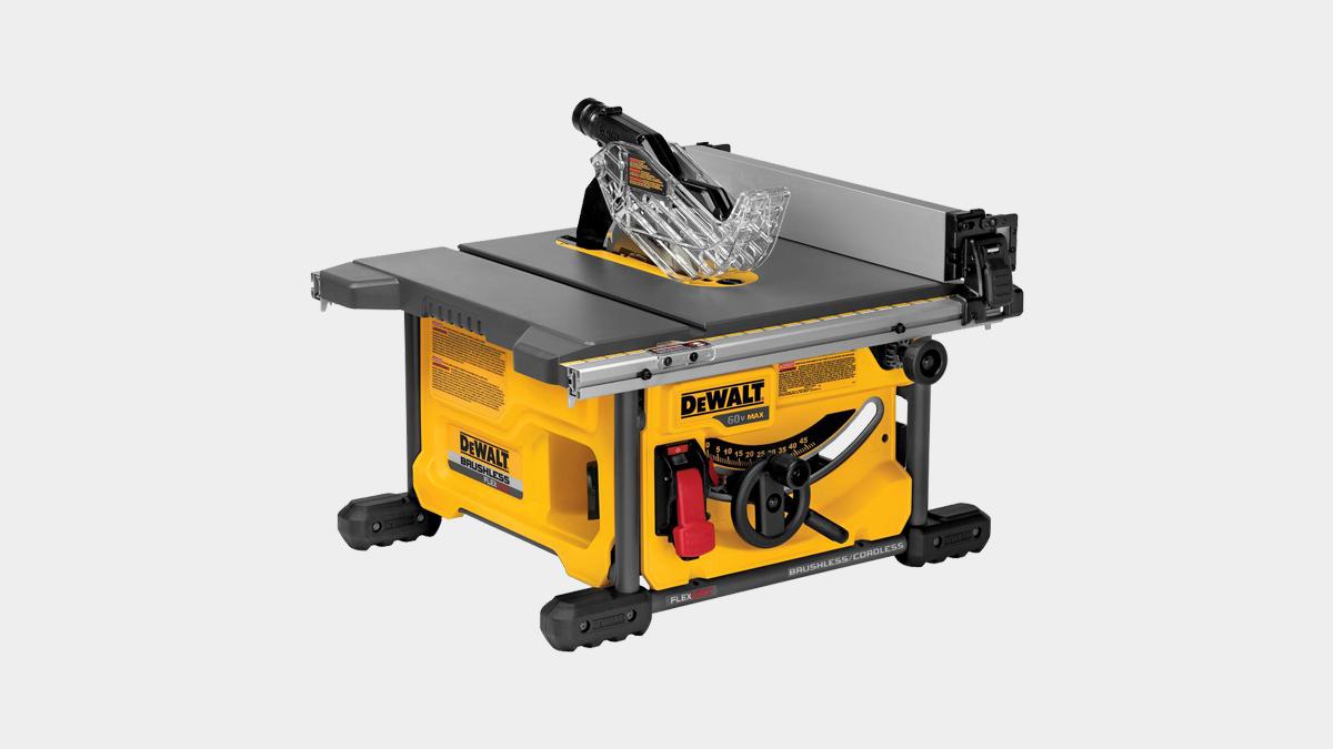 DeWalt FLEXVOLT 60V MAX cordless table saw Featured