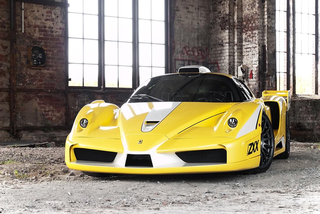 Ferrari Enzo ZXX Evolution Front