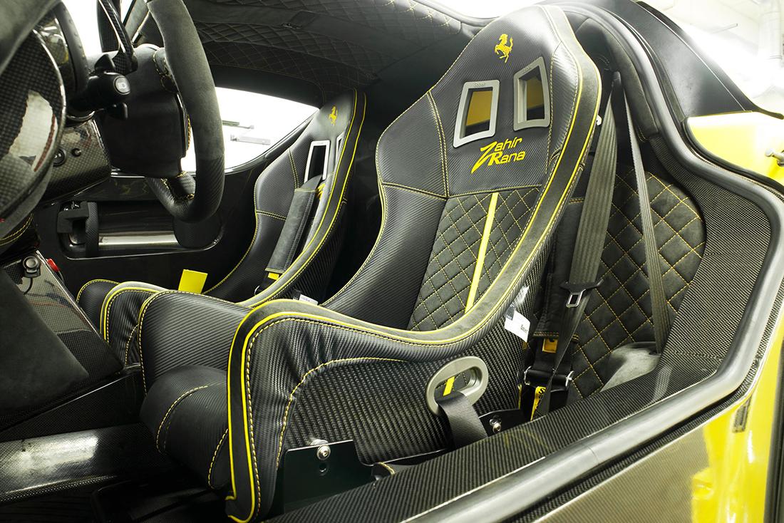 Ferrari Enzo ZXX Evolution Seats