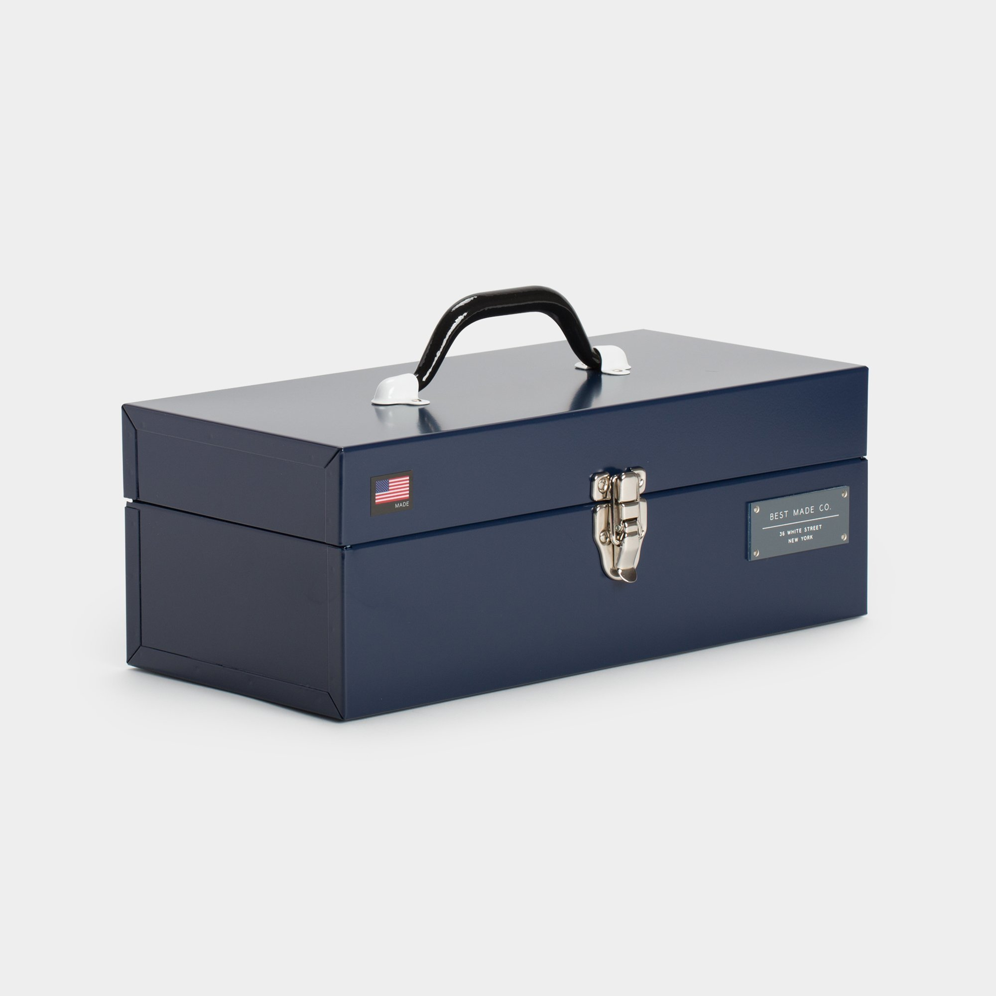 Best Made Company The 15 Inch Toolbox Left Navy