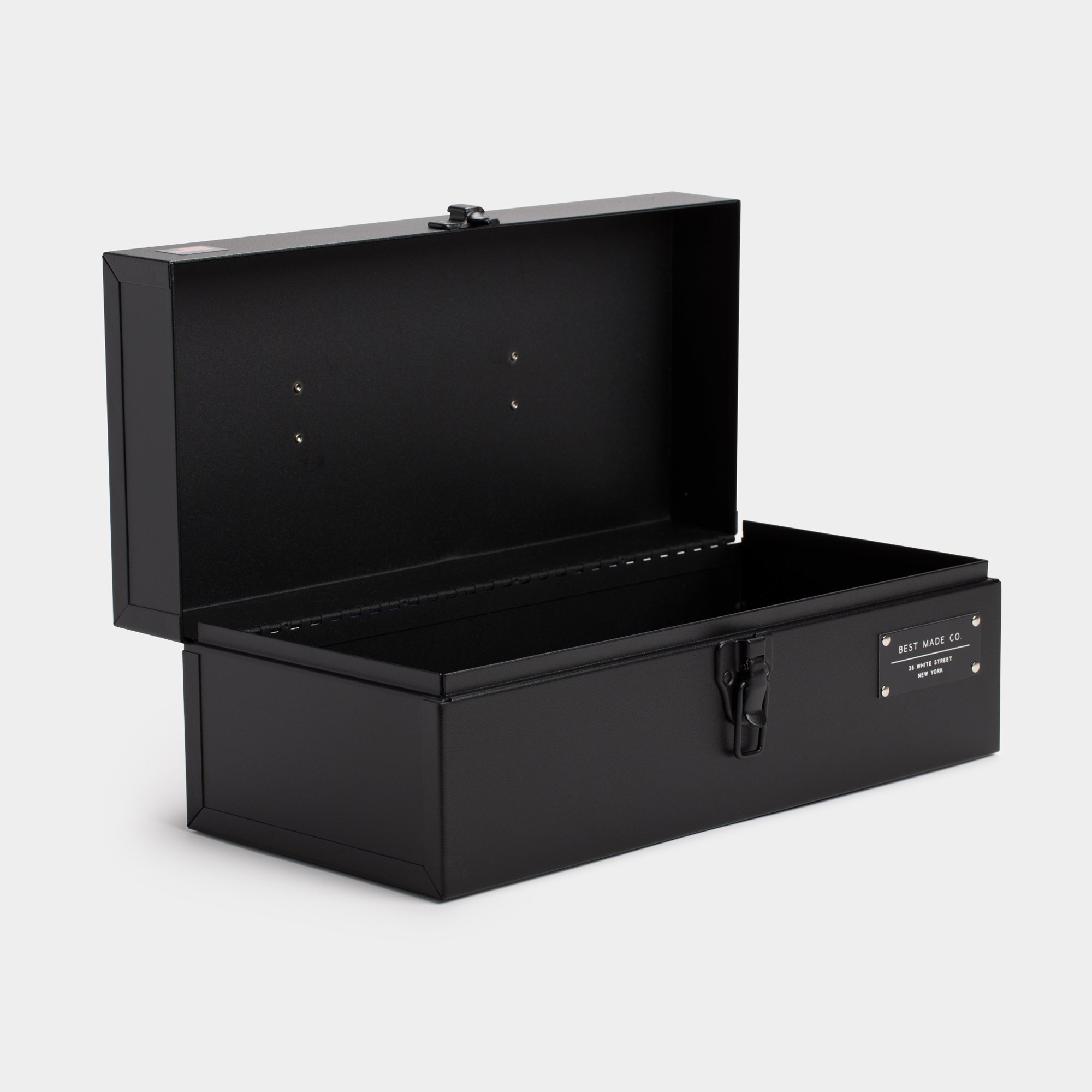 Best Made Company The 15 Inch Toolbox Open Black