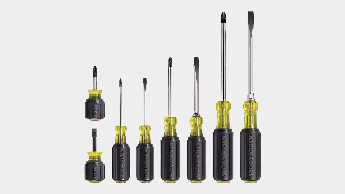 Klein Cushion-Grip Screwdriver Set