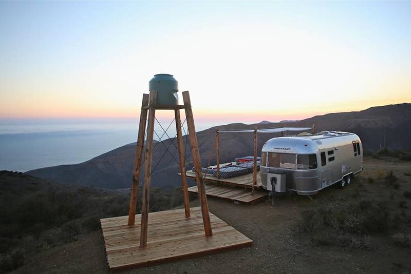 Malibu Dream Airstream Sunset