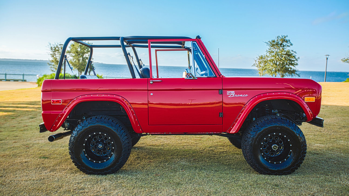 Supercharged 1975 Ford Bronco By Velocity Restorations