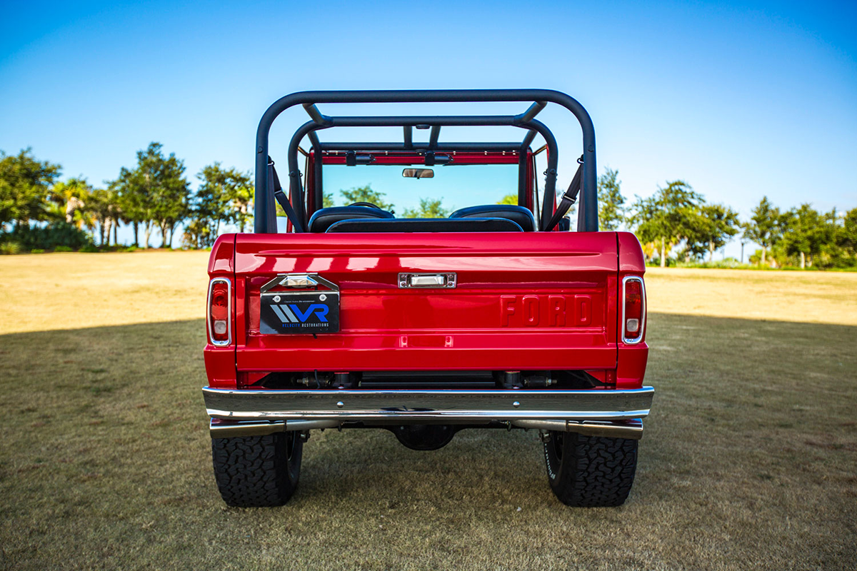 Supercharged 1975 Ford Bronco Rear