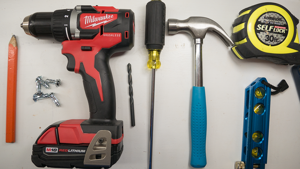 How To Install Hollow Wall Anchors Tools